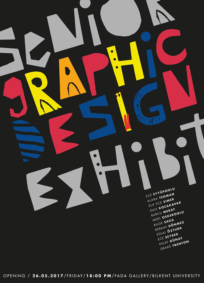Senior Graphic Design Exhibition '17